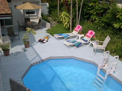 Private Pool and Sundeck