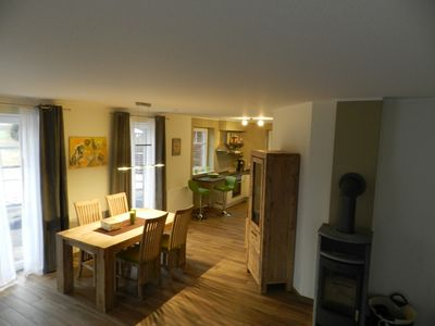 Charming Nordseehaus on the old dike with sauna and fireplace for 2-8 people