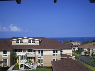 Panoramic Ocean View Condo!  Short walk to the pool and the beach!