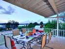 Deck - Barbecue burgers on the gas grill and then gather around the 6-person table on the covered deck.