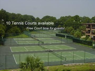 Tennis Courts for your Hilton Head Vacation.