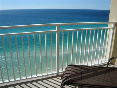 Beautiful view of the Gulf right from your balcony!