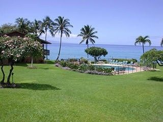 Honokowai condo photo - Oceanfront Pool & Grounds