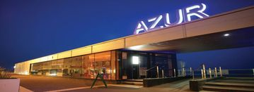 AZUR RESTAURANT - OVER THE ROAD!
