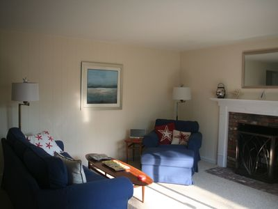 Falmouth house rental - Family Room