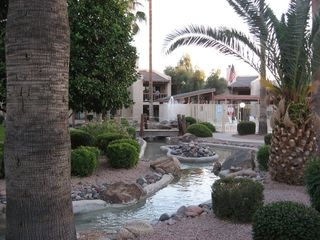 Mesa condo photo - Pathway to pool area.