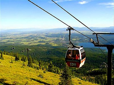 Gondola rides: Whitefish Mountain Resort aka Big Mountain aka The Big.