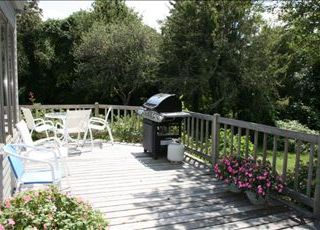 Orleans house photo - Grill your days catch or simply relax and work on your tan.
