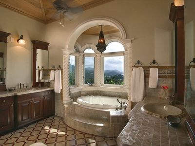Kismet St. John Virgin Islands - Master Bathroom with steam shower