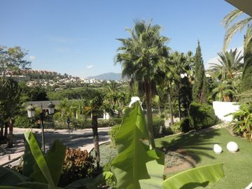 Nueva Andalucia apartment rental - view from apartment main terrace