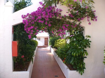 Los Cristianos apartment rental - walk way next to duplex