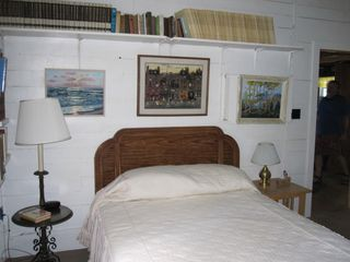 Clayton cabin photo - Main bedroom