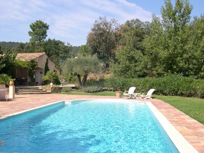 Beautiful air-conditioned single storey villa with heated pool F57