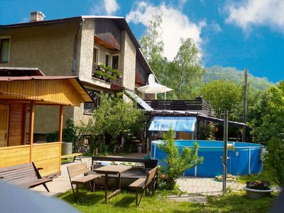 Holiday apartment close to a skil ift with billiard and sauna