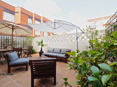 Apartment 1.4 km from the center of Barcelona with Internet, Air conditioning, Lift, Terrace (676905)