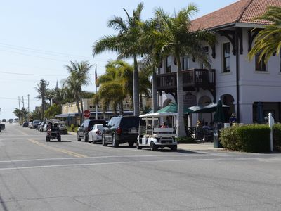 Boca Grande house rental - Golf carts are the best way to get around Boca Grande