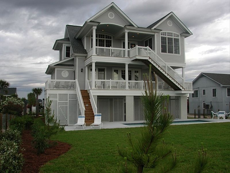 spectacular ocean front home with pool   vrbo, homes to rent in myrtle beach oceanfront, house rentals in myrtle beach oceanfront, house rentals north myrtle beach oceanfront