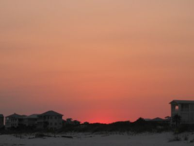 Fort Morgan condo rental - Sunset