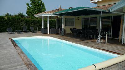 ROCHER: BEAUTIFUL VILLA WITH HEATED POOL (12 people)