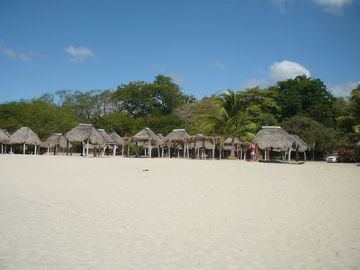 Another popular weekend beach Santa Clara close by, with restaurants and cabanas