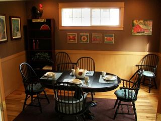Poulsbo house photo - Dining Room: Intimate Dining, and great for playing cards and board games.