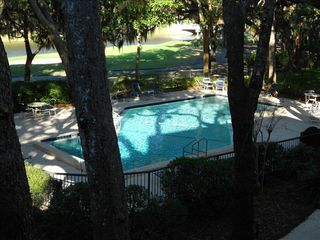 Amelia Island condo photo - View of Pool and Golf Course from Balcony.