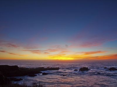 Sea Ranch house rental - SUNSET