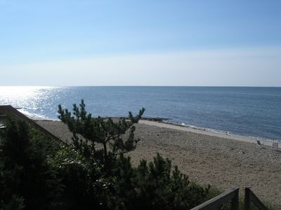 Earle Road Beach looking east to Monomoy