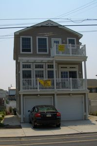 Wildwood townhome rental - Front of house