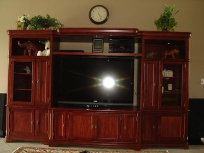"55"" PLASMA TV AND SOUND SYSTEM"