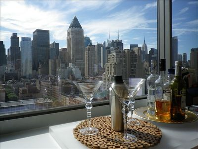 Midtown Manhattan Holiday Apartment Penthouse With Brilliant City Skyline