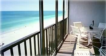 Indian Shores condo rental - Gorgeous Ocean Views from over-sized Balcony!