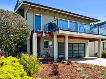 Pleasure Point house rental - Front of house. All new landscaping, paint and more