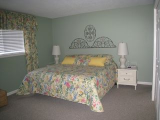 Chateau La Mer condo photo - Master Bedroom, king bed