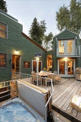 Aspen house photo - Perfect outdoor spaces for après ski or summer grilling