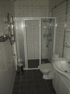Both bathrooms with shower and WC