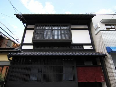 Kyoto townhome rental - The exterior
