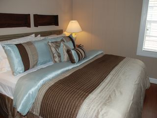 Dauphin Island cottage photo - King bed in master with plush linens