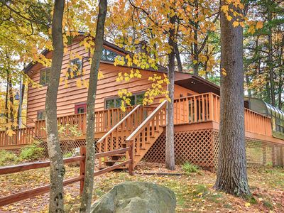Stunning Executive Year Round Home Minutes From Snow Mobile Trails To Minocqua