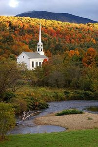 Stowe is beautiful in the fall.