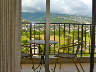 Waikiki condo photo - Enjoy this lovely view while having a drink or meal on the lanai
