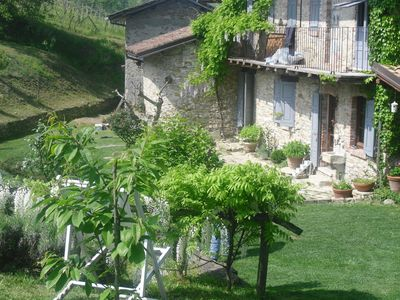 Nice ancient well restored country house, unique place! wonderful garden - Unit 3786069