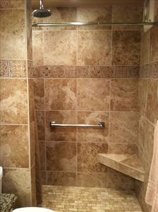 new remodeled shower