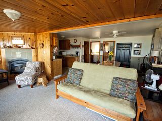 Lake Leelanau cottage photo - A relaxing cottage feel, includes a double futon for extra sleeping.