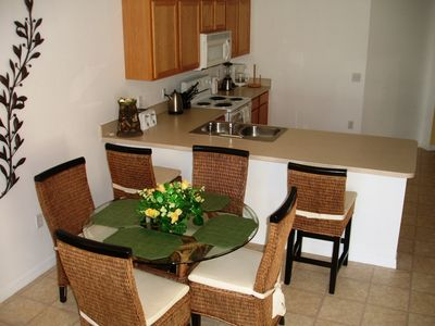 Haines City villa rental - Breakfast Bar