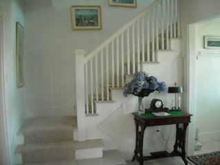 Brant Point house photo - Foyer and staircase to second floor