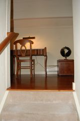 Lincoln townhome photo - Stairs to the loft and master bedroom level