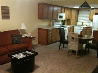 New Smyrna Beach condo photo - Living and Dining.