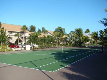 Private Beach Cottage Tennis Court