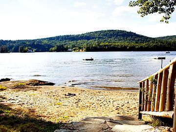 Brant Lake farmhouse rental - Beautiful Sandy Beach, Ideal for Swimming and Wading